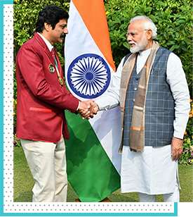 sridhar_reddy with modi